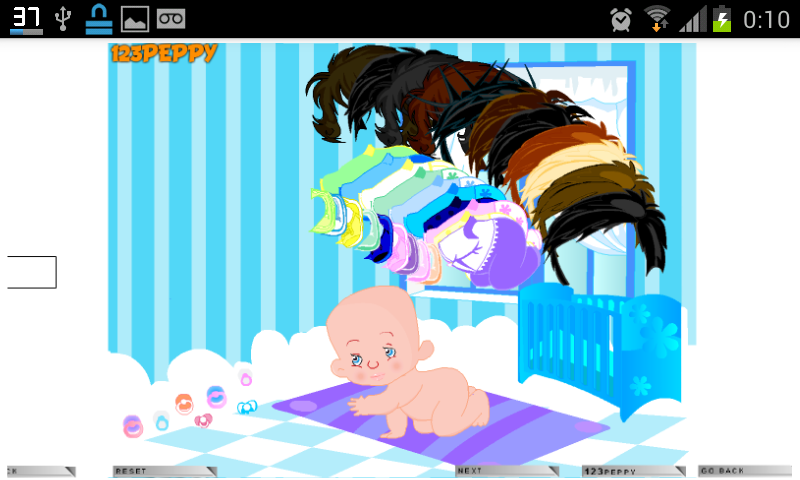 Jogos de Cuidar Bebê - screenshot