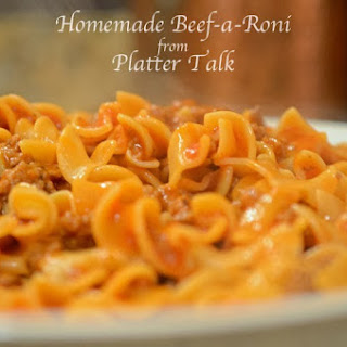 Homemade Beef-A-Roni
