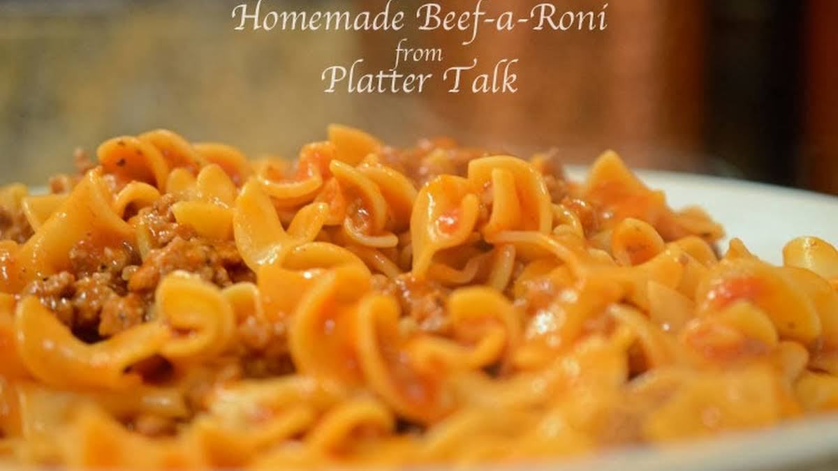 10 Best Beef a Roni Recipes
