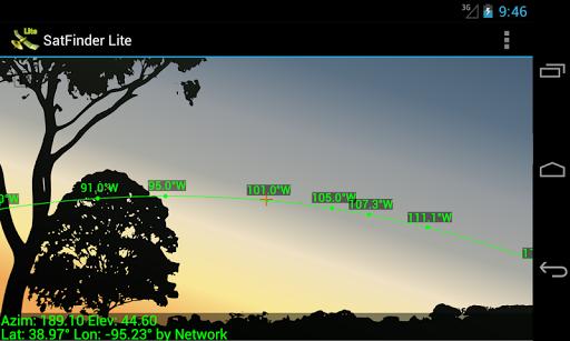 SatFinder Lite - TV Satellites 2.2.2 screenshots 2