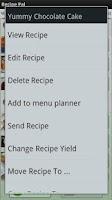 Screenshot of Recipe Pal