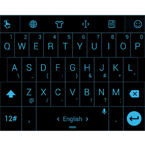 Keyboard Theme Gate Flat Blue for PC