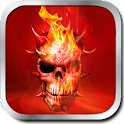 Application Skull from hell icon