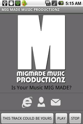 MIG MADE MUSIC PRODUCTIONZ- screenshot
