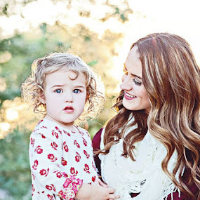 Mommy and daughter by Carrie Younger-Howard - Novices Only Portraits & People