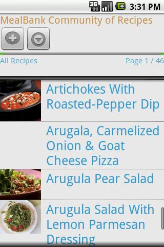 MealBank Pro:Recipes-> Grocery - screenshot