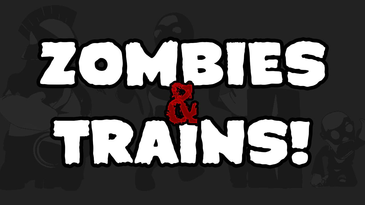 Zombies & Trains! - screenshot