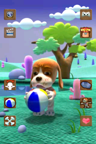 Talking Basset Free - screenshot
