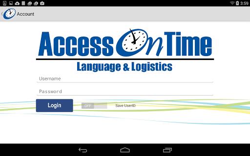 AccessOnTime 2.3 screenshots 8
