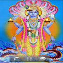 Lord Vishnu Live Wallpaper icon