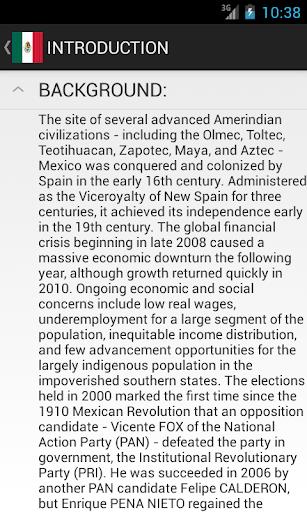 【免費教育App】Mexico Facts-APP點子