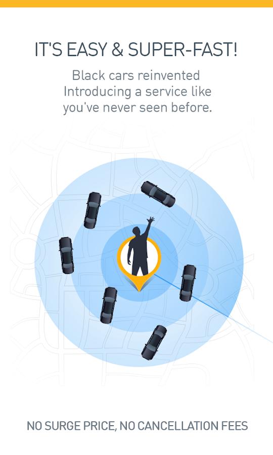 Gett - Black car & taxi app - screenshot