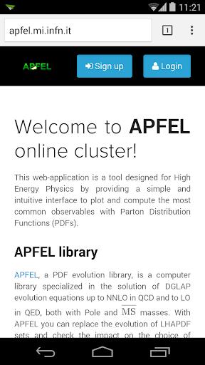 APFEL Web