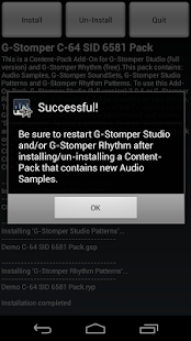 G-Stomper C-64 SID 6581 Pack- screenshot thumbnail