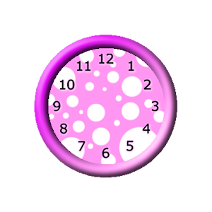 Girly Pink Clocks Widget.apk 2.0.0