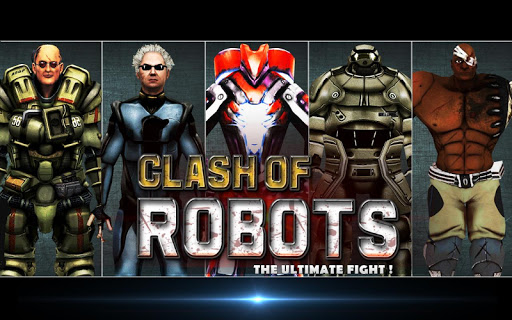 Clash of the Robots 3D