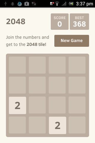 2048 game