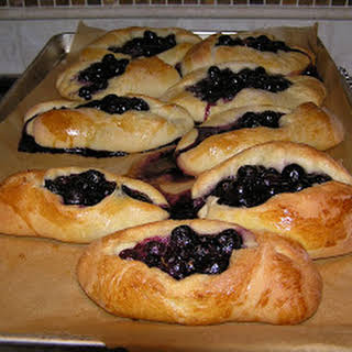 Blueberry Buns.