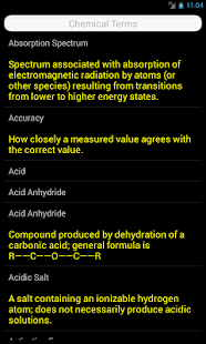 Chemistry Terms- screenshot thumbnail