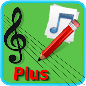 Music Score Pad -Plus Notation