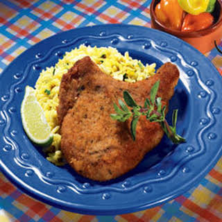 Fried Breaded Pork Chops.