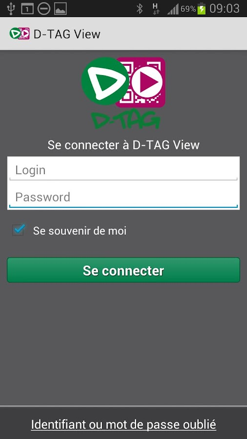 D-TAG View – Capture d'écran
