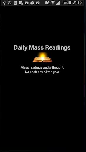 Dailymassreadings