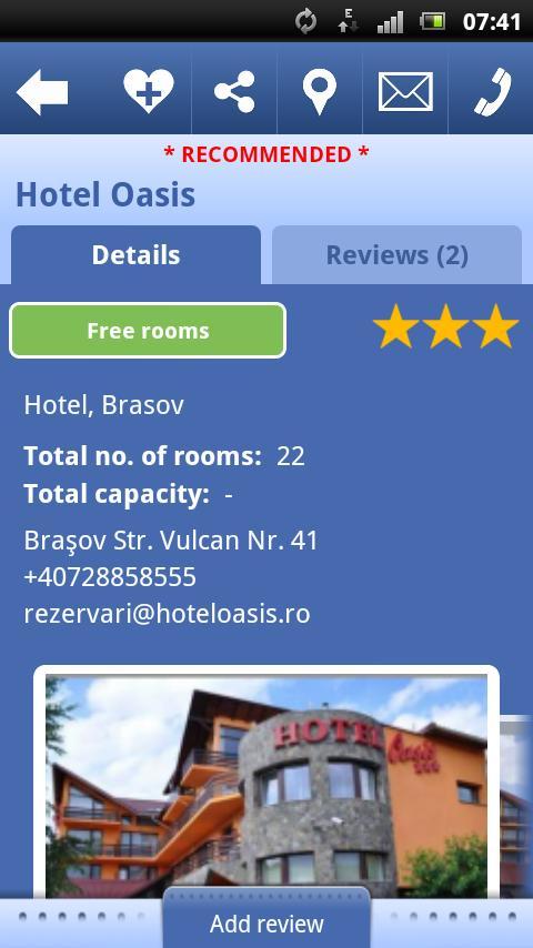 Tourist Informator - Romania- screenshot