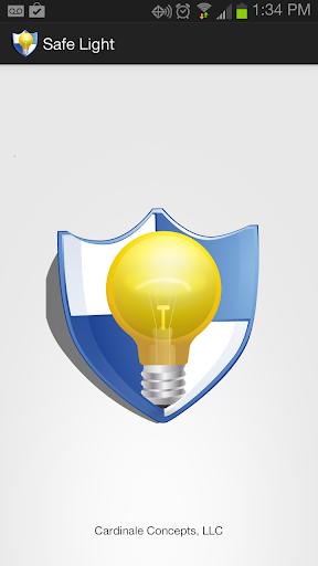 Safe Light Flashlight
