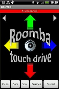 Roomba touch drive- screenshot thumbnail
