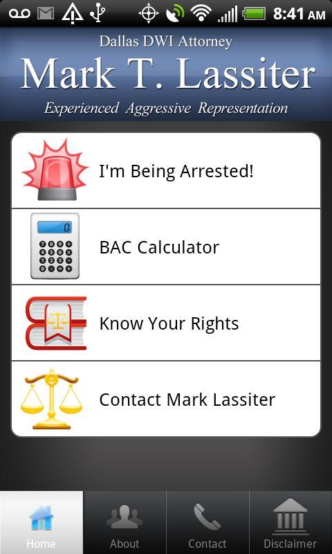 Dallas DWI Attorney- screenshot