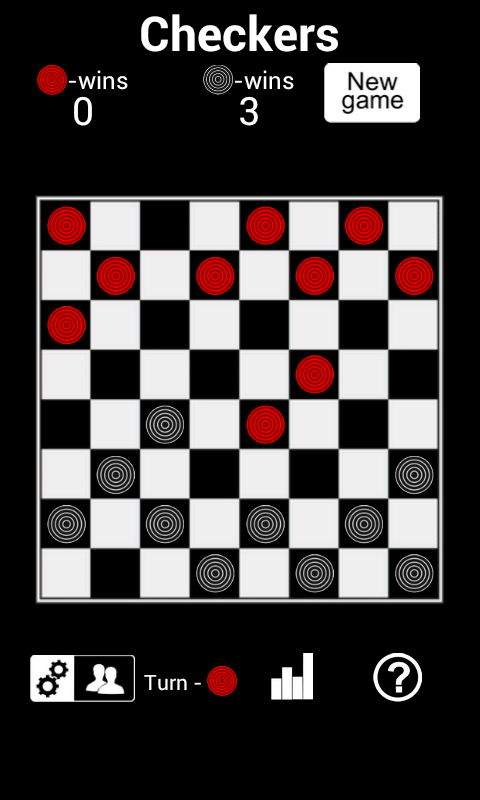 Checkers HD- screenshot