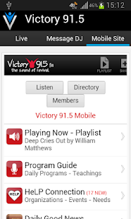 Victory 91.5 - screenshot thumbnail