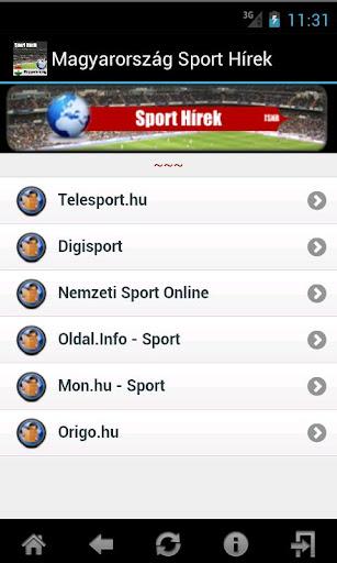Magyarország Sport Hírek