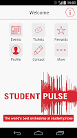 Screenshot of Student Pulse