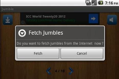Jumble- screenshot thumbnail