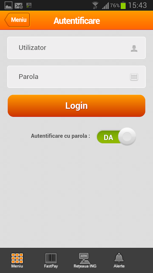 ING Home'Bank - screenshot