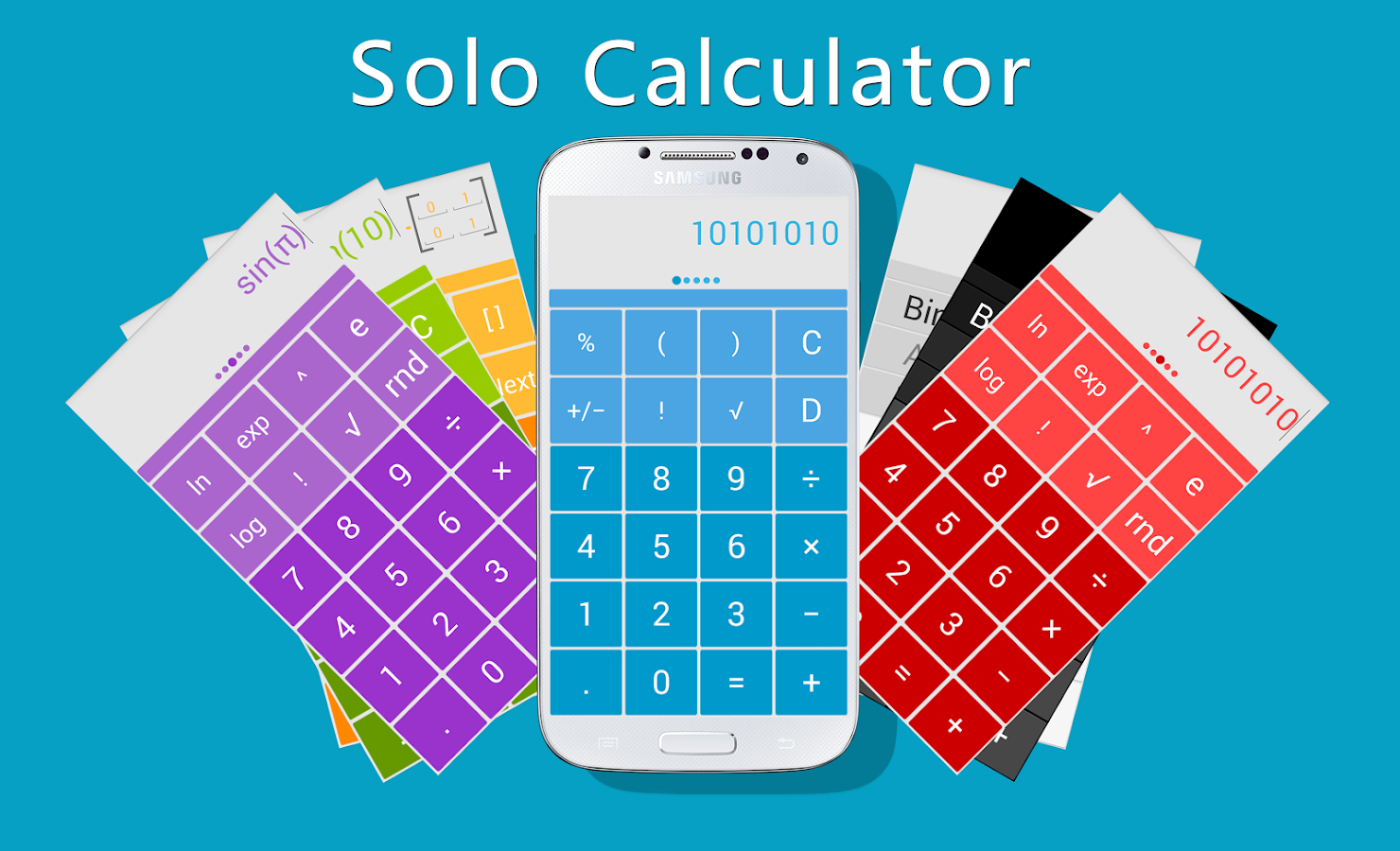 Solo Scientific Calculator - screenshot