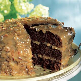 German-Chocolate Cake.