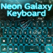Neon Galaxy Keyboard