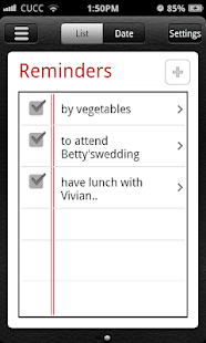 Espier Reminders - screenshot thumbnail
