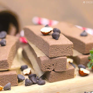 Healthy Nutella Fudge Protein Bars (sugar free, whole grain and vegan!).