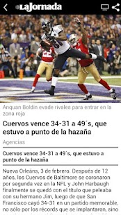 La Jornada - screenshot thumbnail
