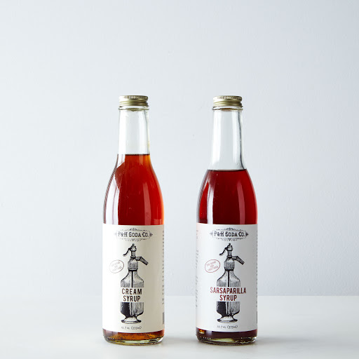 Sarsaparilla & Cream Soda Syrups