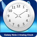 Galaxy Note 2 Live AnalogClock icon