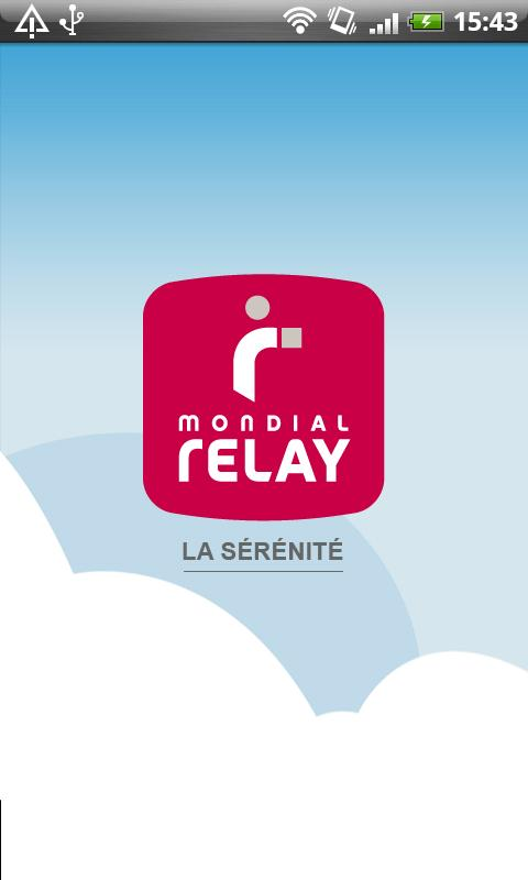 Mondial Relay - screenshot