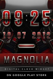 GO Locker MAGNOLIA Theme - screenshot thumbnail