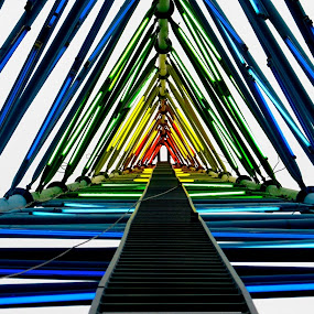 Rainbow Road by Ashley Gibson - Buildings & Architecture Bridges & Suspended Structures ( colorful, mood factory, vibrant, happiness, January, moods, emotions, inspiration,  )