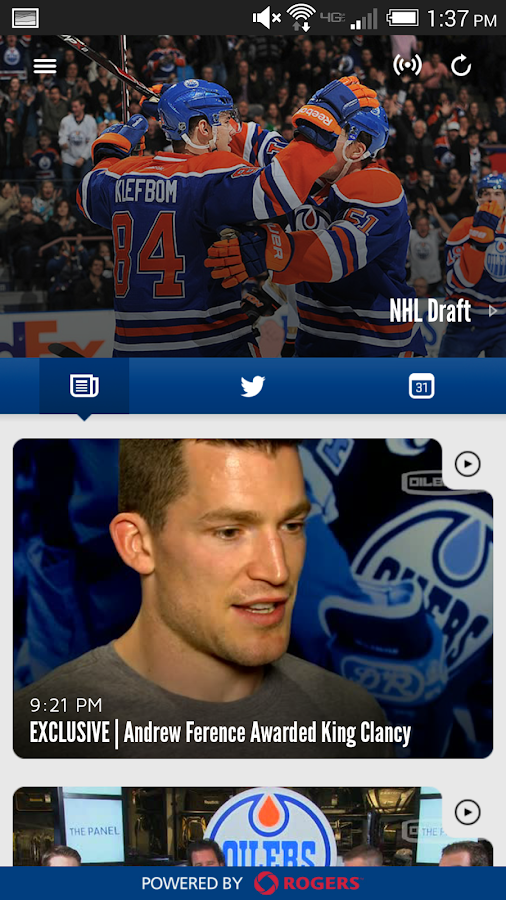 Edmonton Oilers - screenshot