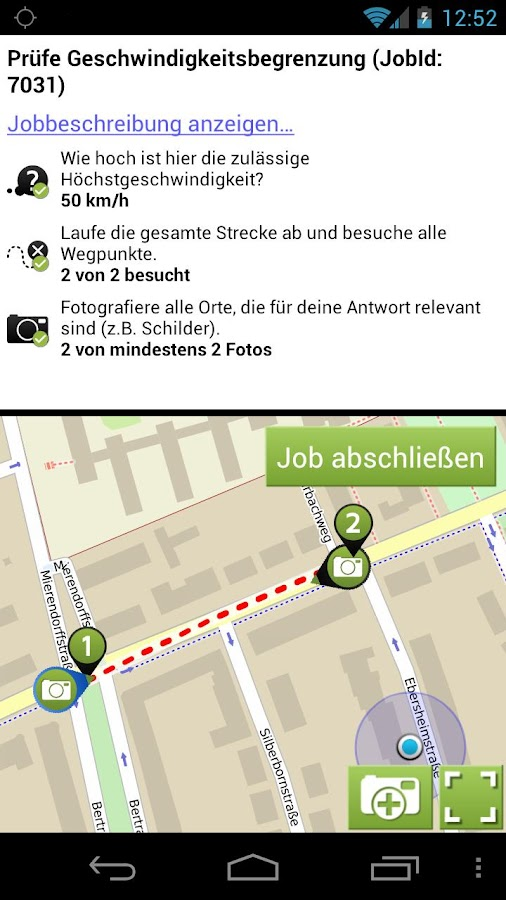 AppJobber - screenshot